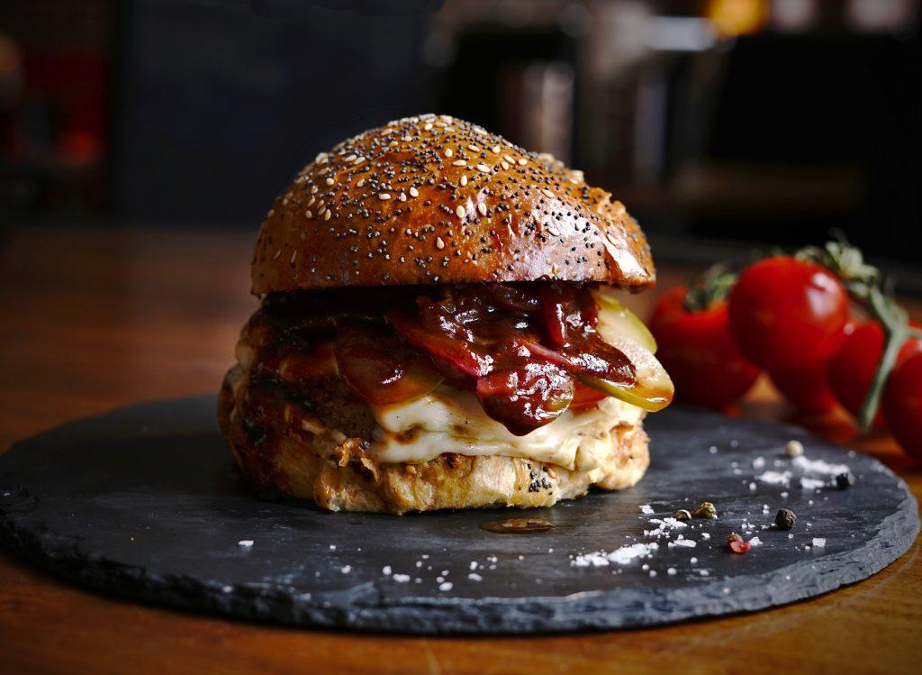 Oceněný burger z Prague burger festu